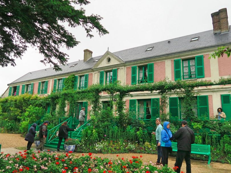 Giverny Monet house