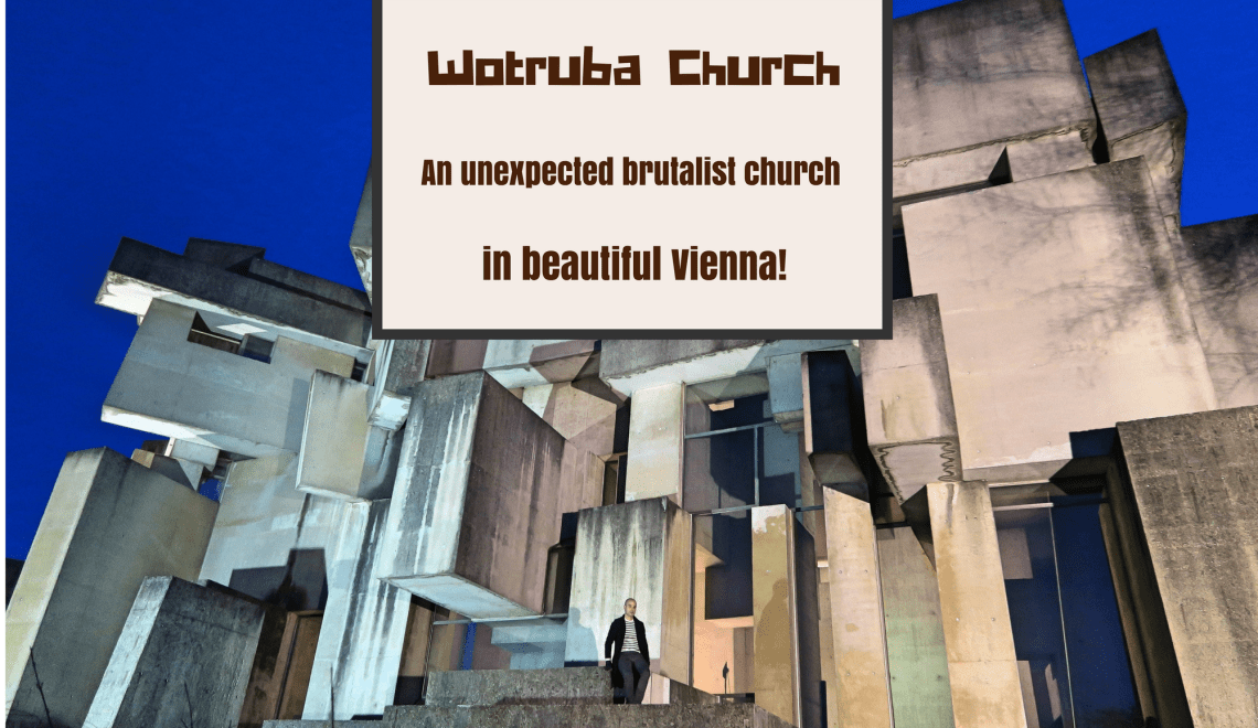 Wotrubakirche: An unexpected brutalist church in beautiful Vienna