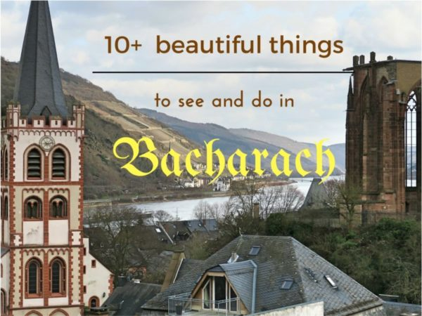 10+  beautiful things to see and do in Bacharach