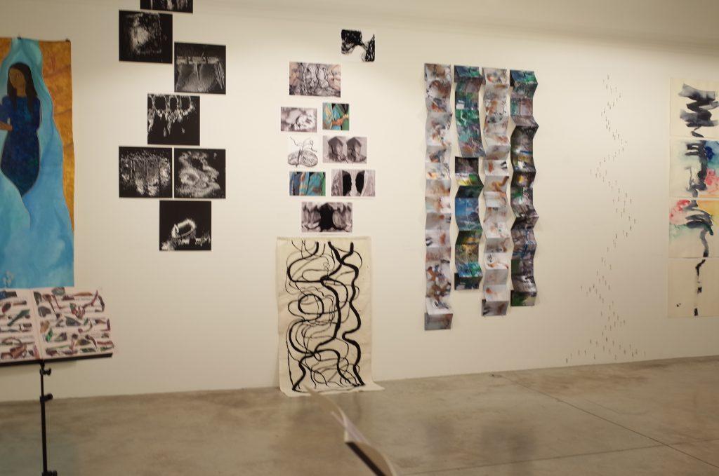 "Exhibition ""ENCONTRO DE RIOS -URBAN DIALOGUES- @Espaço Espelho D´água"" 展示の様子  Hidemi Shimura"