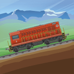 Train Simulator – 2D Railroad Game APK Mod Download for android