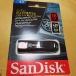 SanDiskの爆速USBメモリー購入、スピードテストとレビュー