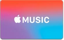 Appleミュージックプリペイドカード