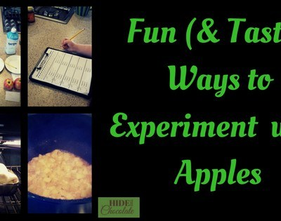 Fun (& Tasty) Experiment with Apples