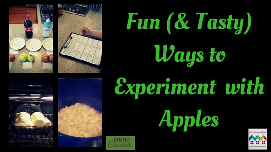 Fun (& Tasty) Ways to Experiment with Apples and Printable
