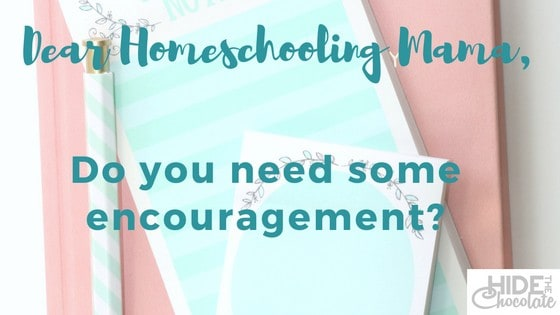 Do you need some homeschooling encouragement