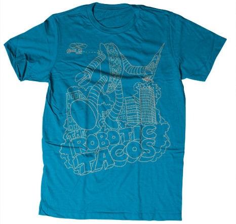 robots4 101 Robot T Shirts [Lists]