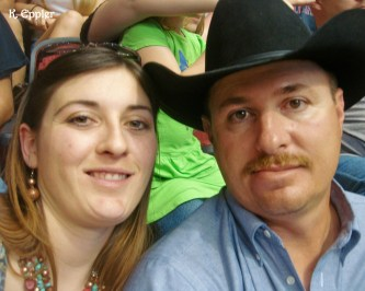 Bill and I at a PBR show in Glendale, AZ.