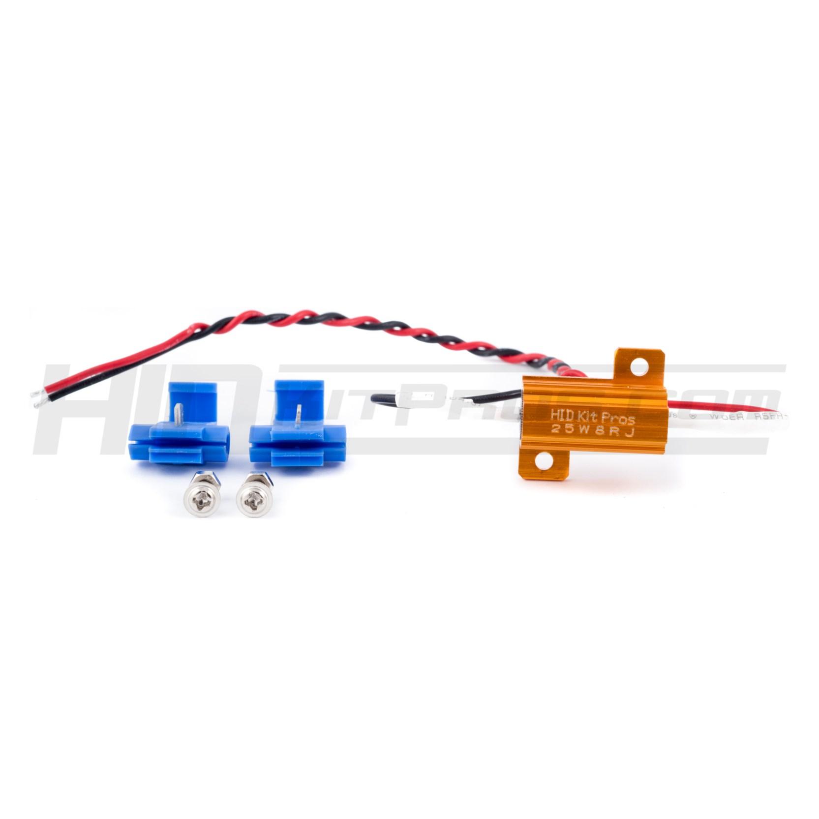 Led Hid Load Resistor Hyper Flash Fix Kit Pros Wiring Diagram On Trailer Lights