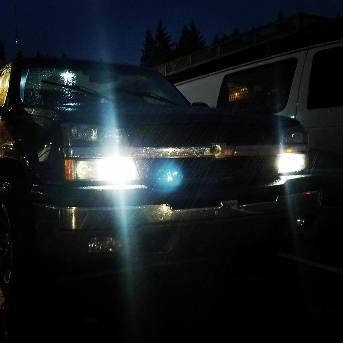 SILVERADO Daytime Running Light Xenon White Bulb 4114