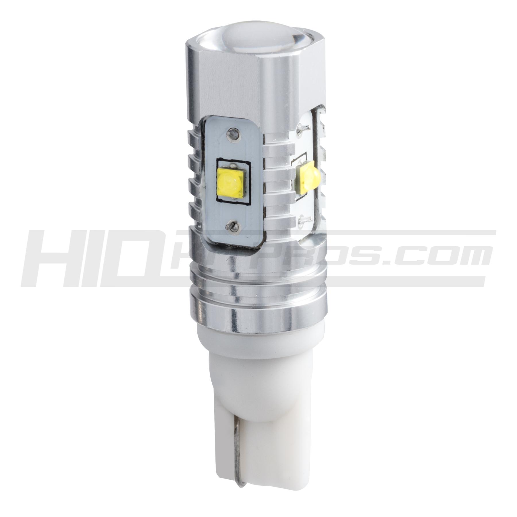 WHITE HYPER 921 LED High-Powered Mini Bulbs SET