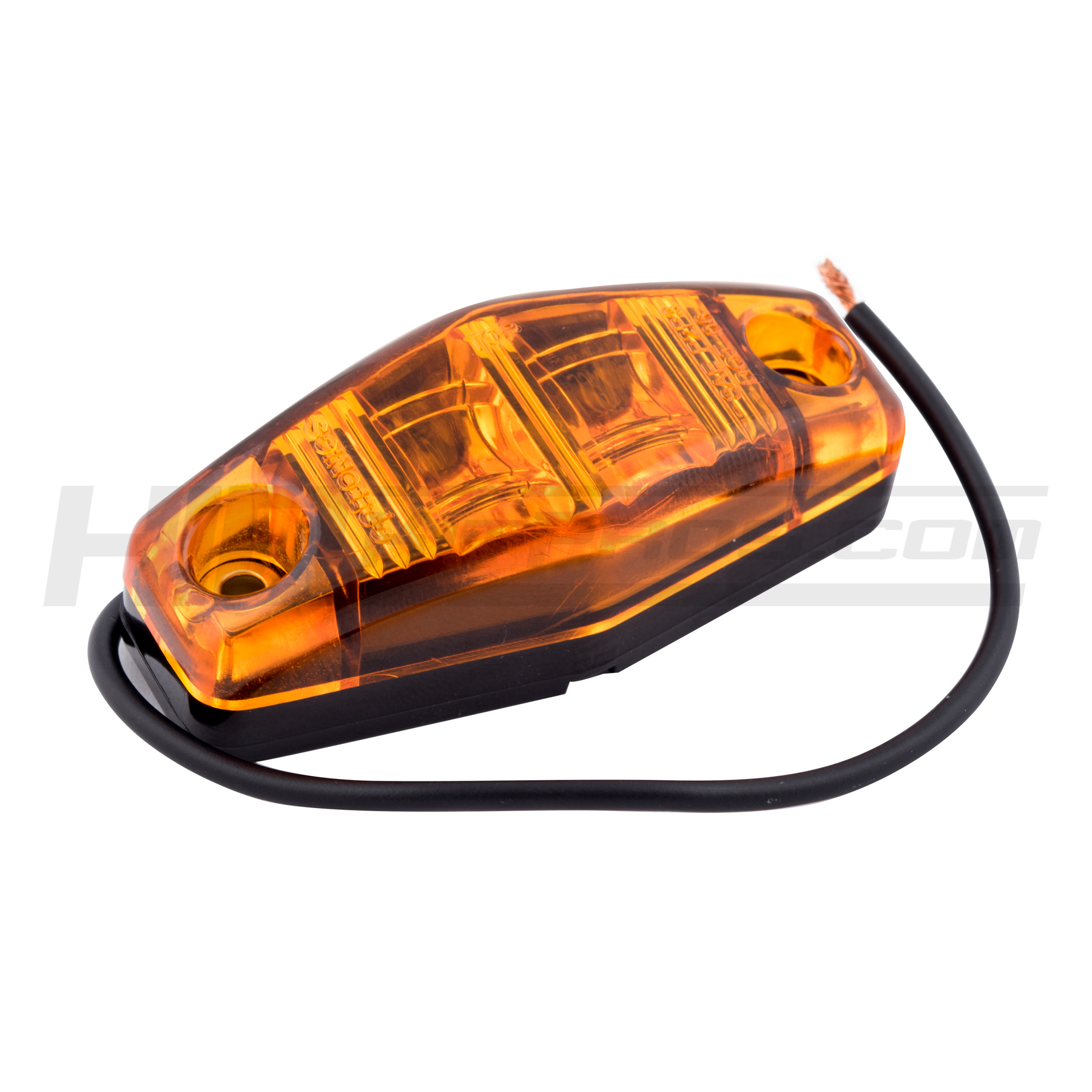 Amber Led Truck Trailer Running Marker Light Hid Kit Pros Replacement 12volt Dc Power Plug Optronics Accessories And Parts A
