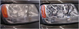Seattle and Issaquah Headlight Restoration