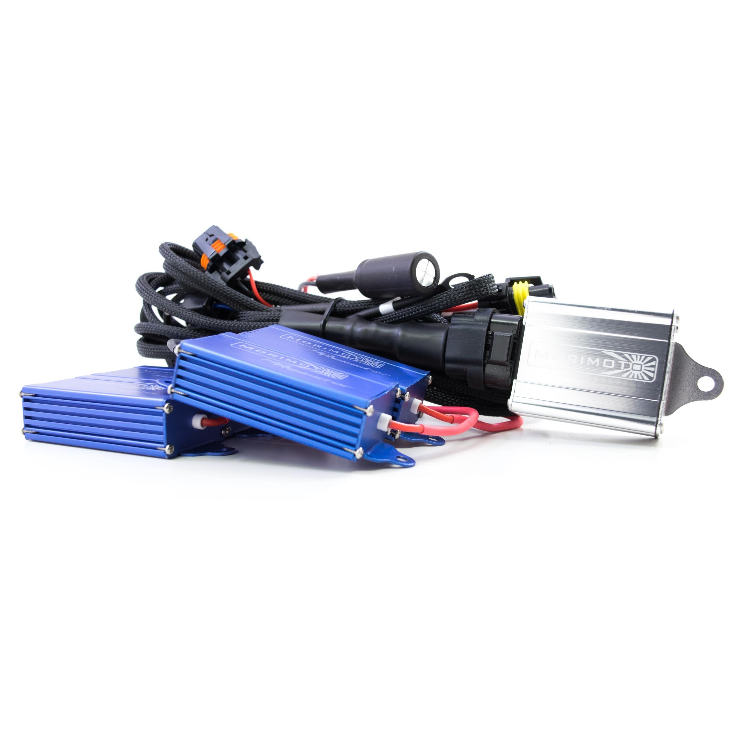 Morimoto Mopar Spec 9004 9007 Bi Xenon Harness Hid Kit Pros Dodge Demon Wiring