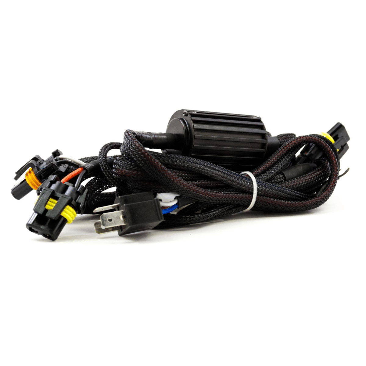 Morimoto Dual Output Motorcycle HID Harness (H4) | HID Kit Pros on