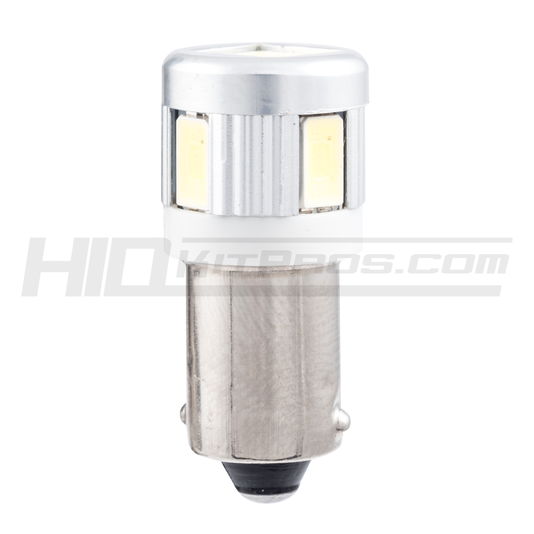 H6W BAx9s WHITE LED CAN BUS 6-SMD 5630 STOP with lens bulb A