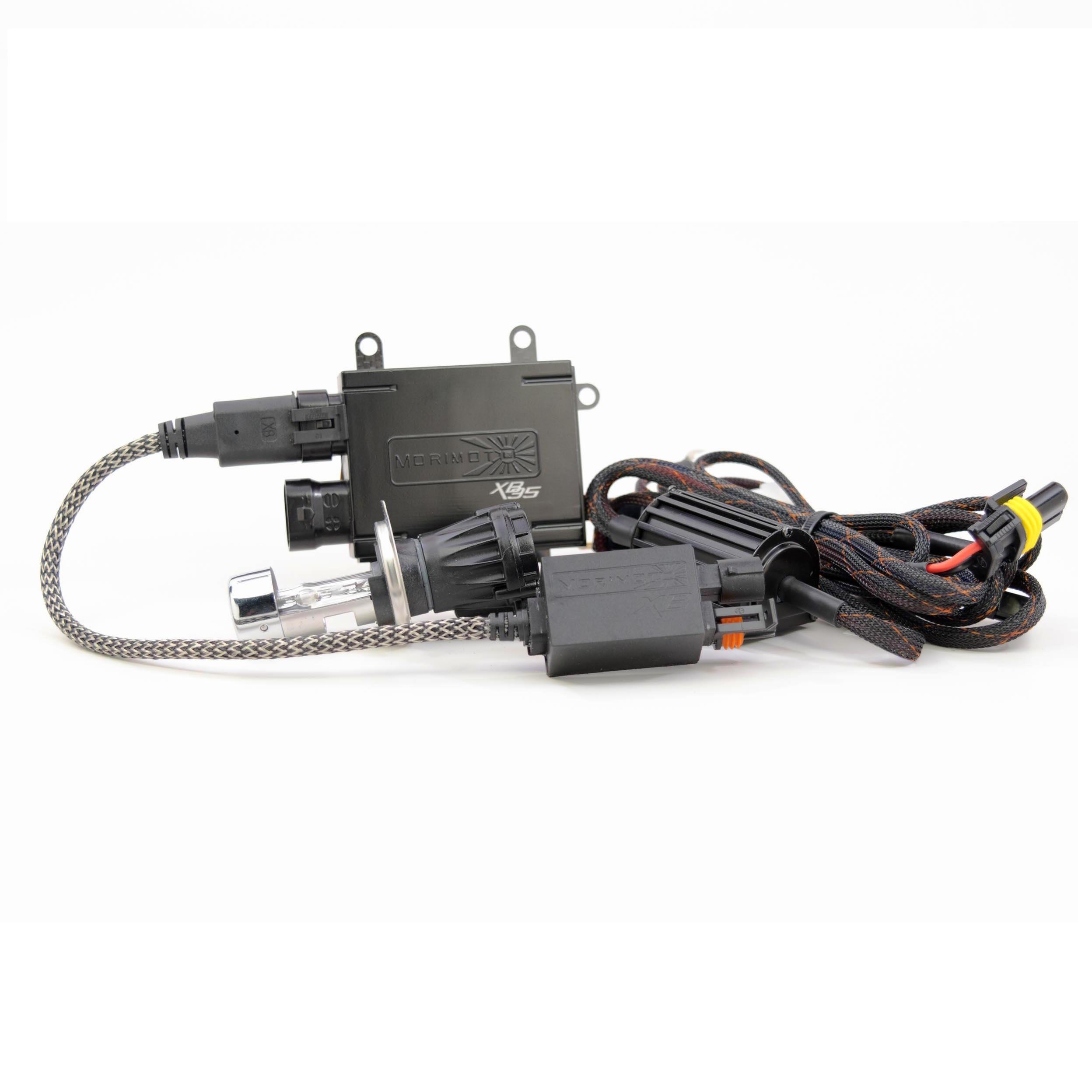 9003 Morimoto BI-XENON Wire Harness Universal Plug /& Play for HID H4