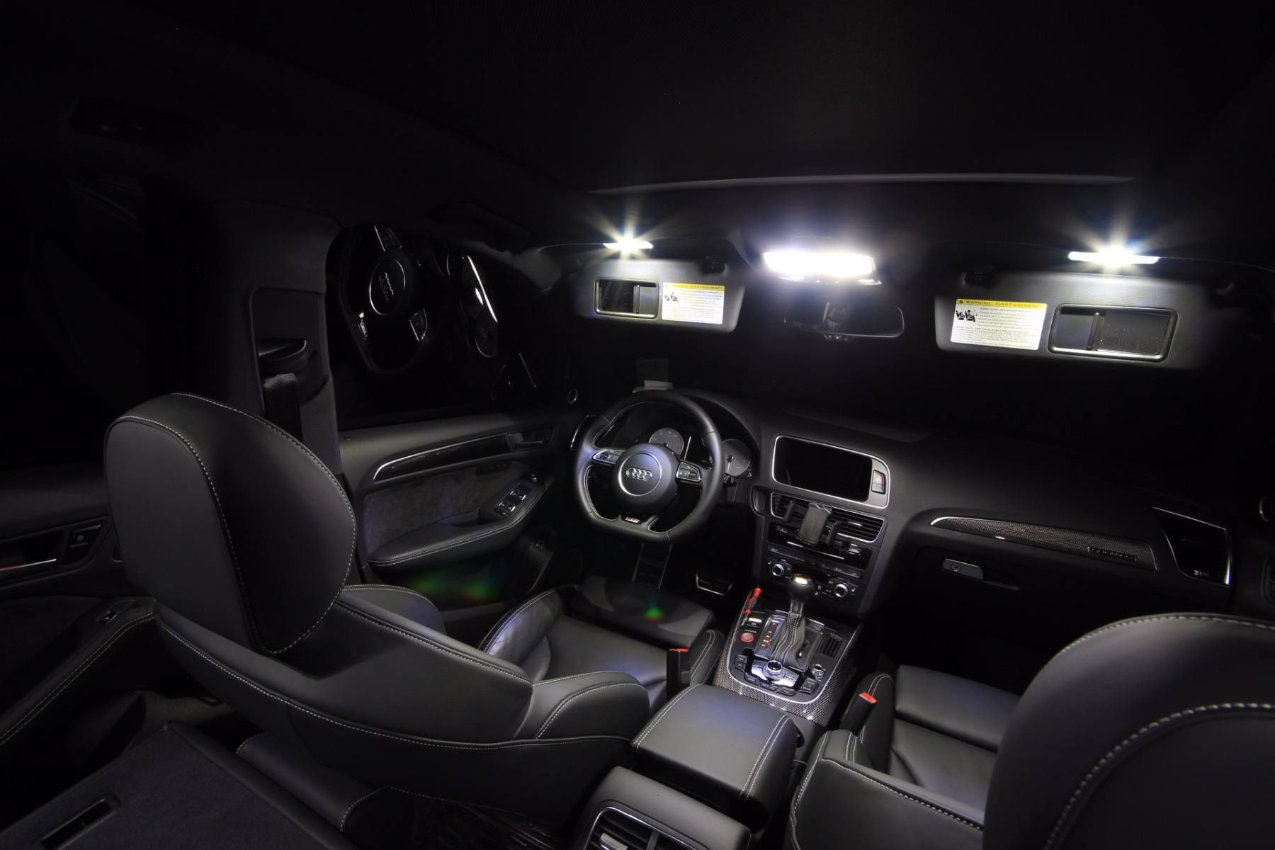 2008-2012 Accord Coupe High Power White LED Light Bulbs Interior Package Kit