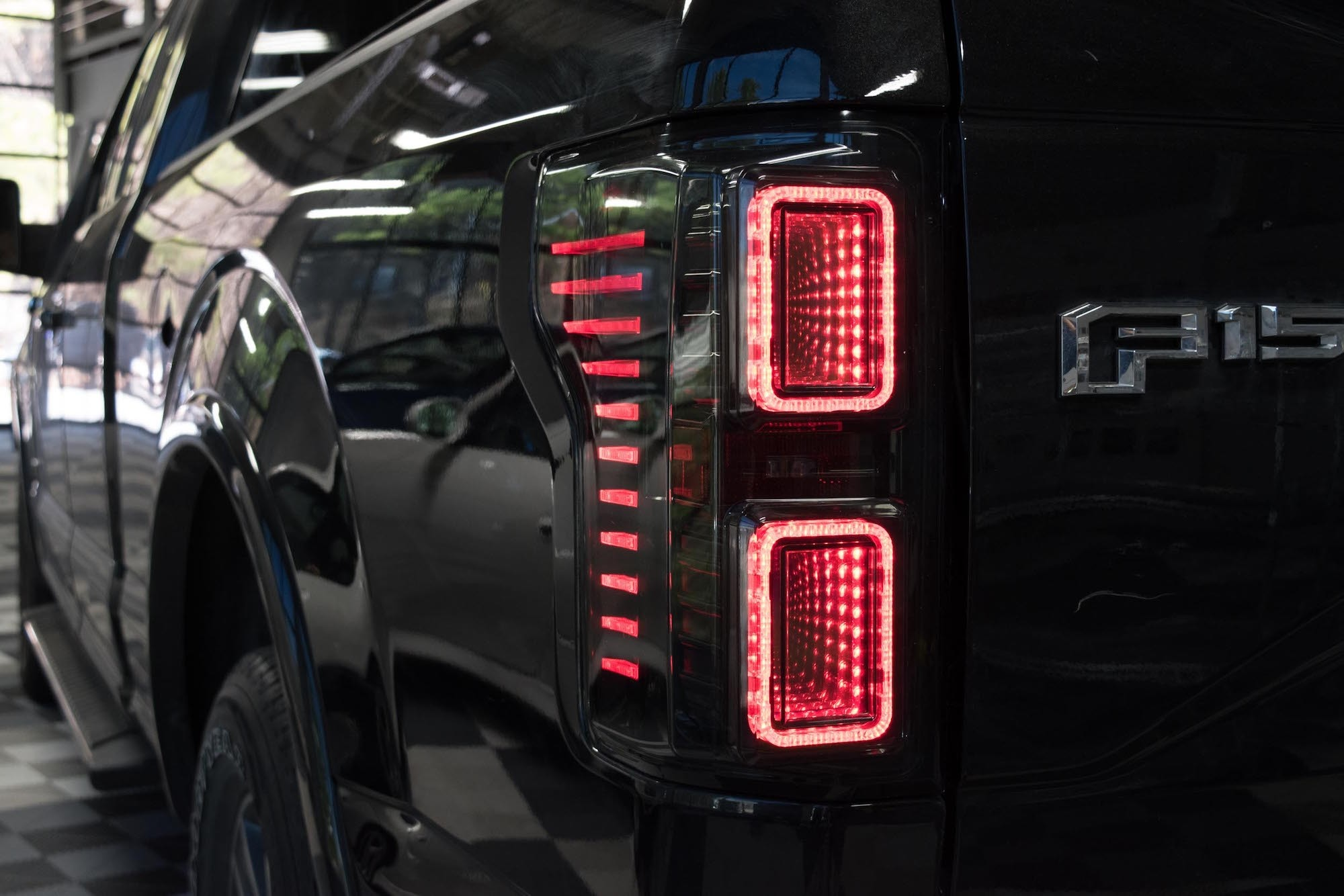 Smoked Morimoto XB LED Plug /& Play Tail Light Assemblies Compatible with 2015-2018 Ford F-150