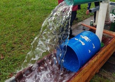 Estudio de tránsito de contaminantes y diseño del sistema de riego y planta de tratamiento de 1700m cúbicos por día, para el Desarrollo catalinas DCL Verde Ltda
