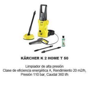 Limpiadora a vapor Karcher K2 Home T50
