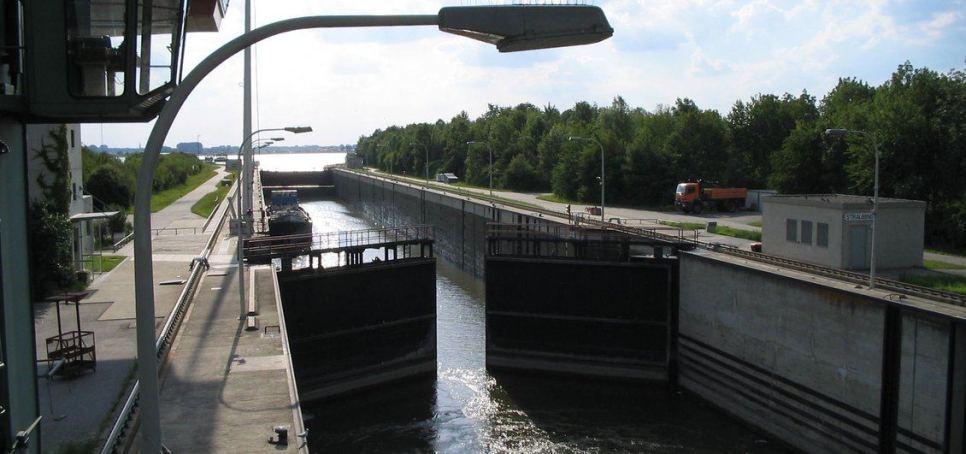 Sbarramento Fluviale sul Danubio