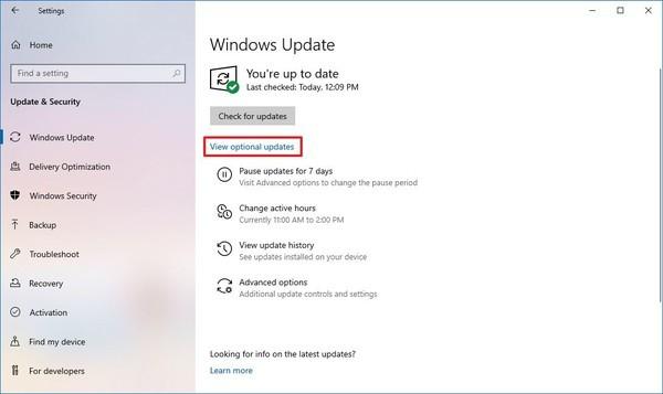 update driver laptop 1
