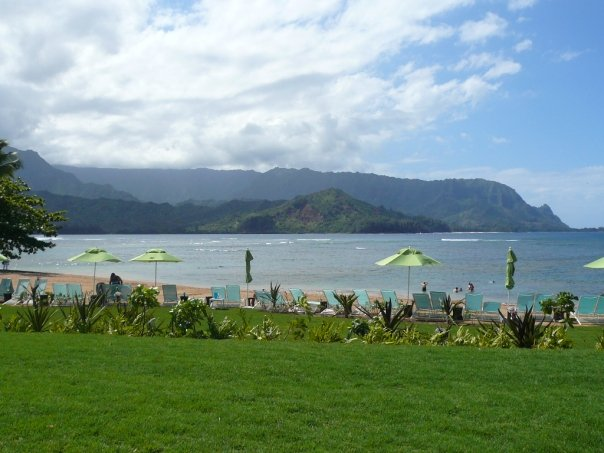 What you see from Kaua'i Grill