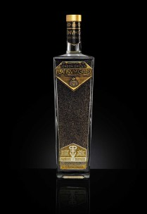 London Dry Gin Platinvm Gold con oro 24K