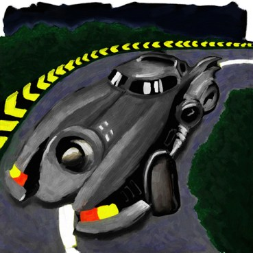 The Batmobile 2.3
