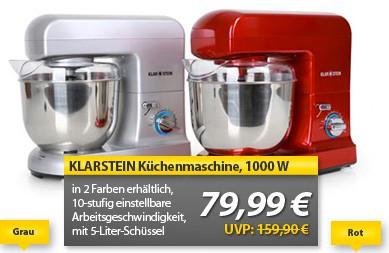 Klarstein-Gracia-Argentea-Küchenmaschine