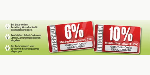 Fressnapf-Kratzbaum-Gutschein