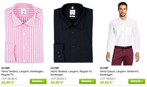 OLYMP-Hemden-Strickjacken-Pullover-Krawatten-guenstiger
