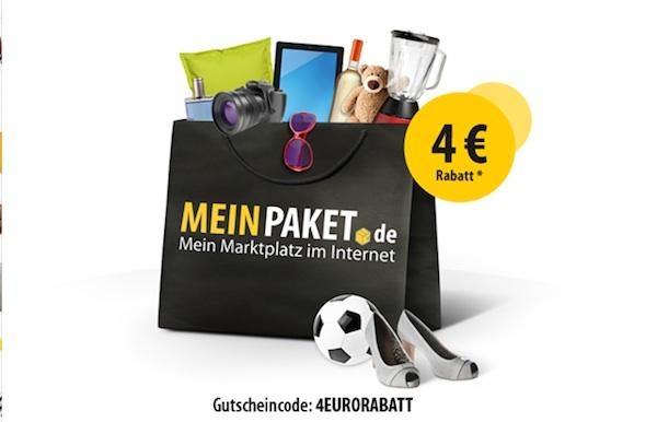 meinpaket.de Gutschein für Onlineshop