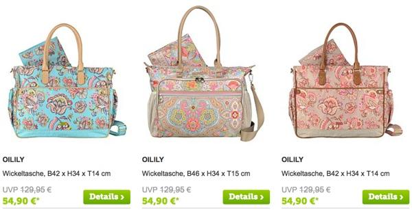 Oilily verschiedene Taschen günstiger kaufen