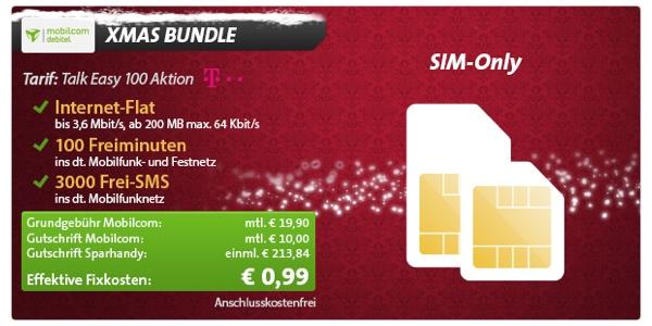 günstiger Telekom Smartphone Tarif für unter 1 Euro monatlich