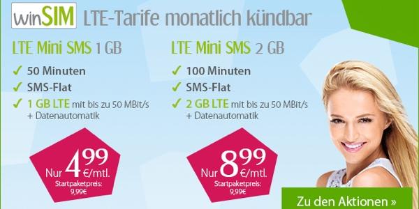 günstiger Smartphone-Tarif unter 5 Euro mit 1GB Volumen