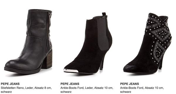 Schuhe von PEPE JEANS für Frauen Männer und Kinder