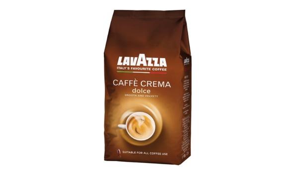 günstiger Lavazza Caffè Crema dolce Kaffee 1kg Packung