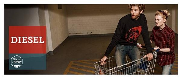 DIESEL Sale bis zu 50% Rabatt auf Jeans und andere Artikel
