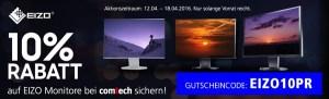 EIZO Monitore günstiger kaufen comtech Gutschein