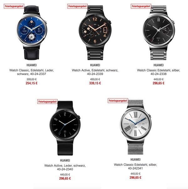 Huawei Watch Android Uhren günstiger Classic