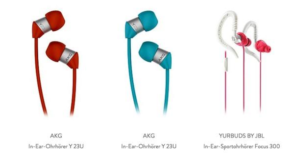 AKG in-Ear Kopfhörer