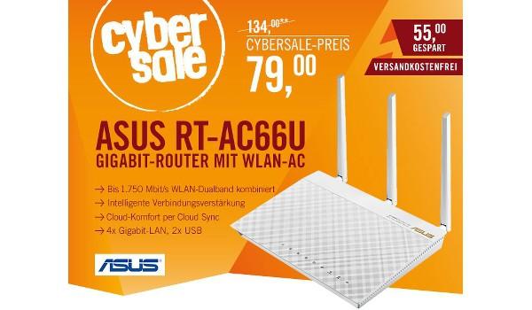 WLAN Router ASUS RT-AC66U günstiger kaufen