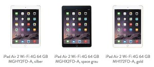 Apple iPad Air 2 WiFi 4G 64GB Cellular