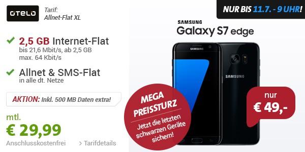 Samsung Galaxy S7 edge mit Smartphonetarif im Vertrag