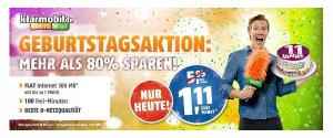 klarmobil Smartphone Tarif unter 2 Euro