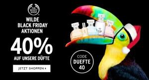 The Body Shop Gutschein Rabatt Parfüm Düfte