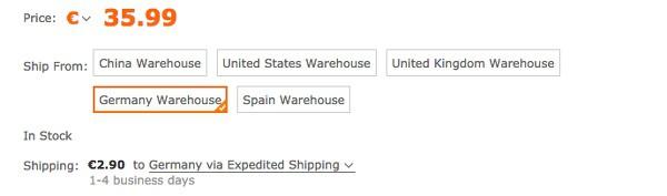 TOMTOP China Shop nach Deutschland liefern