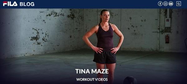 kostenloses Workout Video Tina Maze